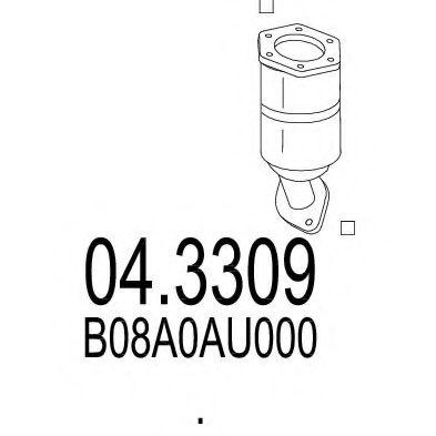 Катализатор MTS 043309