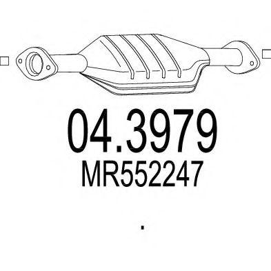 Катализатор MTS 043979
