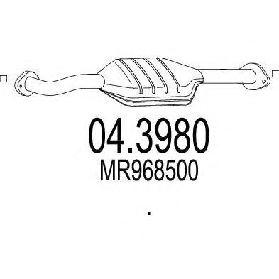 Катализатор MTS 043980