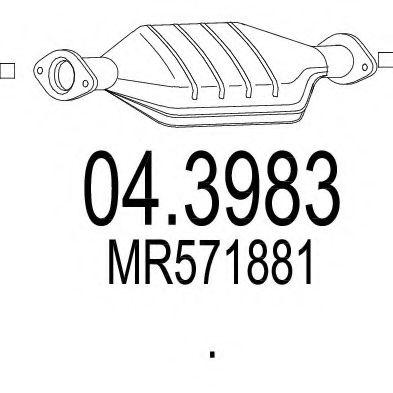 Катализатор MTS 043983