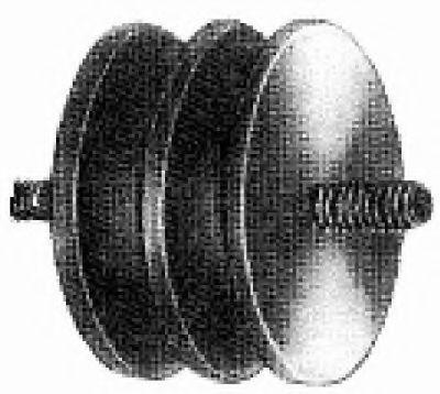 Подушка двигателя Metalcaucho 00404