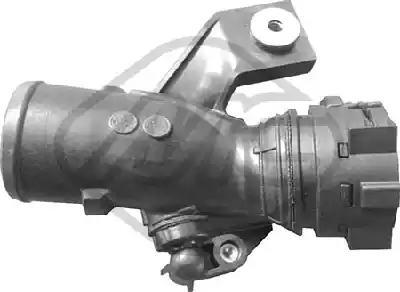 Патрубок наддува Metalcaucho 03937