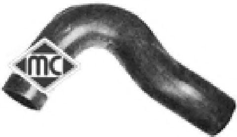 Патрубок радиатора Metalcaucho 07534