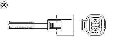 Лямбда-зонд NGK 0165