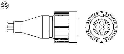 Лямбда-зонд NGK 0242