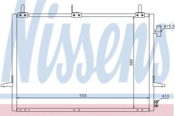 Радиатор кондиционера NISSENS 94271