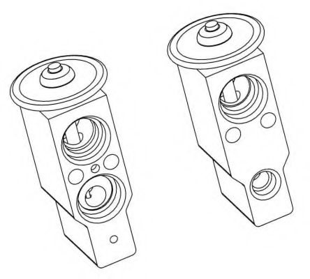 Расширительный клапан кондиционера NRF 38379