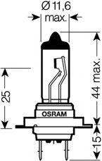 Лампа ближнего света OSRAM 64210