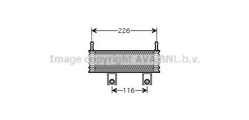 Масляный радиатор коробки передач PRASCO HY3152