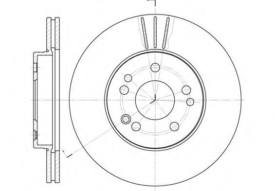 Тормозные диски REMSA 631410
