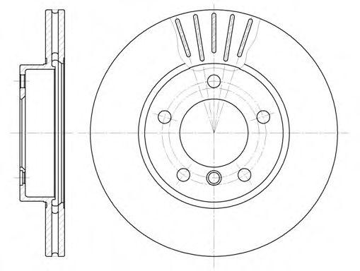 Тормозные диски REMSA 632410