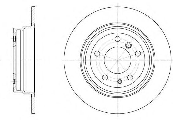 Тормозные диски REMSA 634200