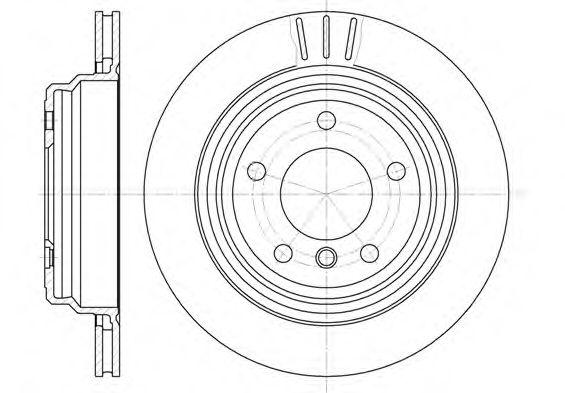 Тормозные диски REMSA 658810