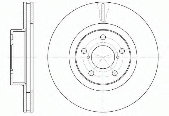 Тормозные диски REMSA 671510