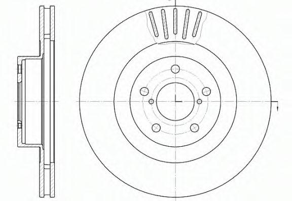 Тормозные диски REMSA 681610