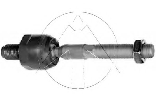 Ремкомплект рулевой рейки  SIDEM 67611