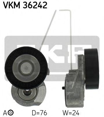 Натяжной ролик ремня ГРМ SKF VKM36242
