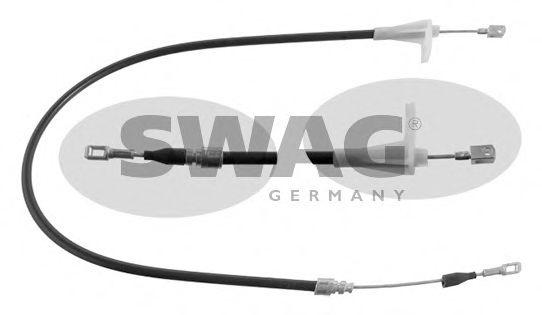 Трос ручного тормоза SWAG 10400001