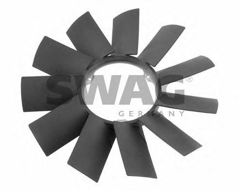 Крыльчатка вентилятора охлаждения двигателя SWAG 20919256