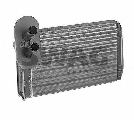 Радиатор печки SWAG 30911089