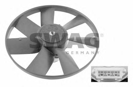Вентилятор радиатора кондиционера SWAG 99906993