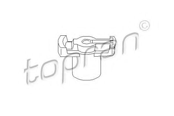 Бегунок распределителя зажигания TOPRAN 101047