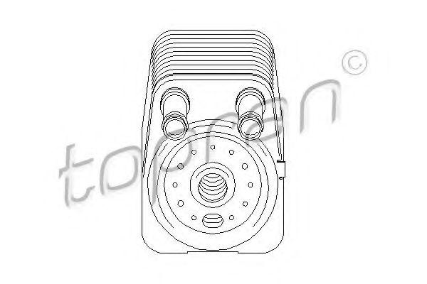 Масляный радиатор TOPRAN 112203