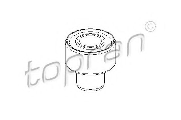 Сайлентблок задней балки TOPRAN 302364
