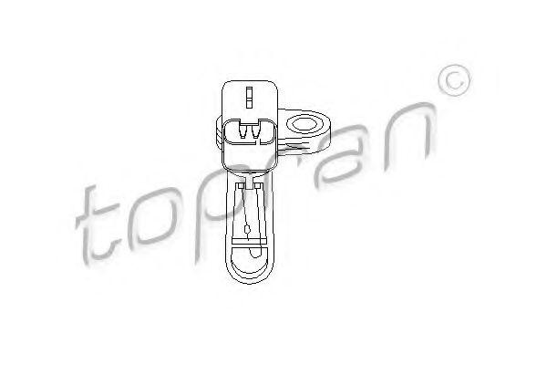 Датчик температуры впускаемого воздуха TOPRAN 302695