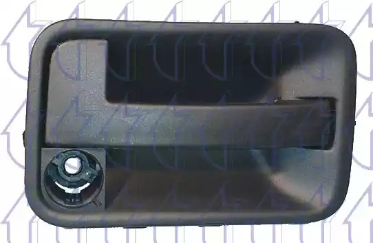 Облицовка бампера TRICLO 124765