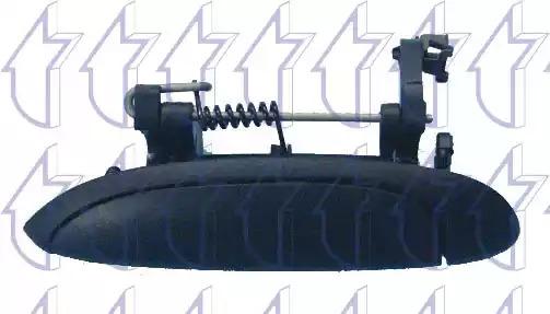 Облицовка бампера TRICLO 125000