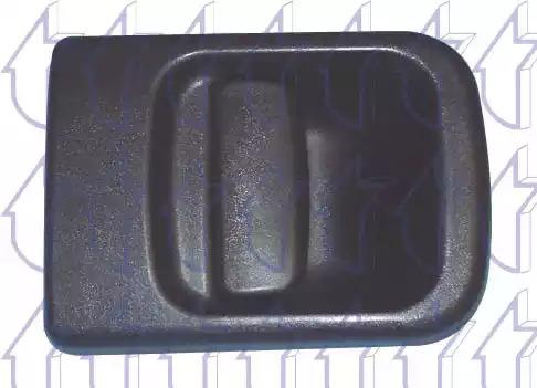 Облицовка бампера TRICLO 125453