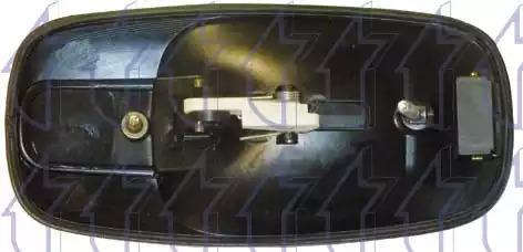 Облицовка бампера TRICLO 125463