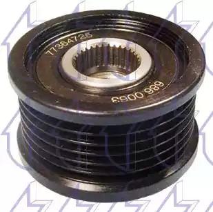 Шкив генератора TRICLO 424231