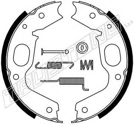 Тормозные колодки барабанные TRUSTING 064176K