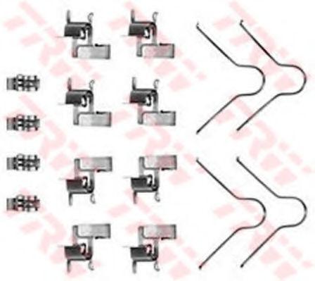 Скобы тормозных колодок TRW PFK189