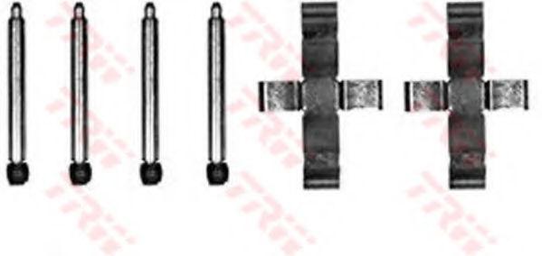 Скобы тормозных колодок TRW PFK204