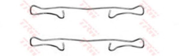 Скобы тормозных колодок TRW PFK302