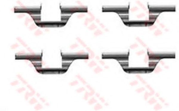 Скобы тормозных колодок TRW PFK320