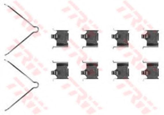 Скобы тормозных колодок TRW PFK328
