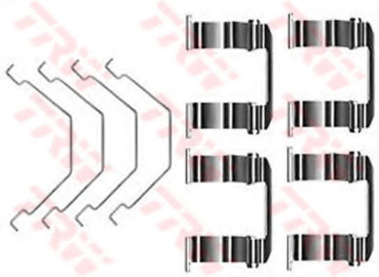 Скобы тормозных колодок TRW PFK331