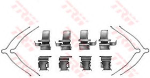 Скобы тормозных колодок TRW PFK361