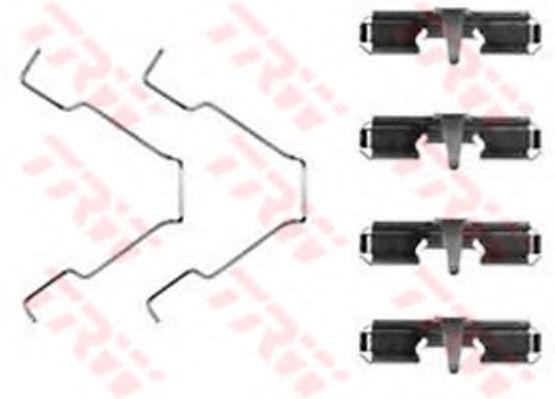 Скобы тормозных колодок TRW PFK367
