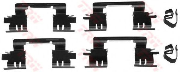 Скобы тормозных колодок TRW PFK510
