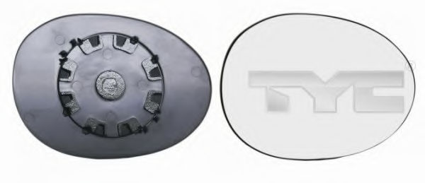 Наружное зеркало TYC 30501151