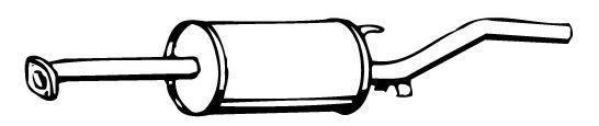 Глушитель WALKER 13284